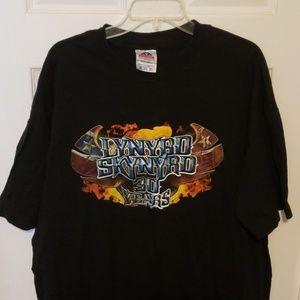 Lynyrd Skynyrd concert tshirt